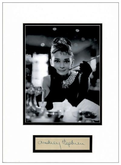 Audrey Hepburn Breakfast At Tiffany's Autograph Display